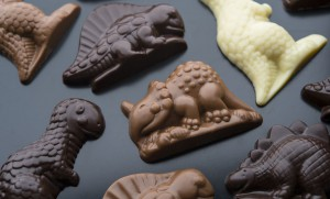 Chocolate Dinosaur Bags