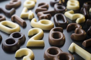 Chocolate Number Bags